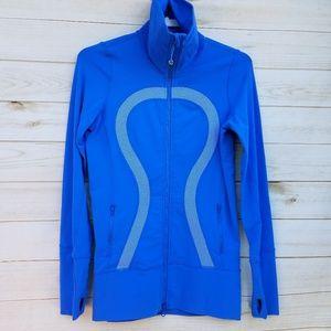 Lululemon full-zip jacket 6 turtleneck LONG